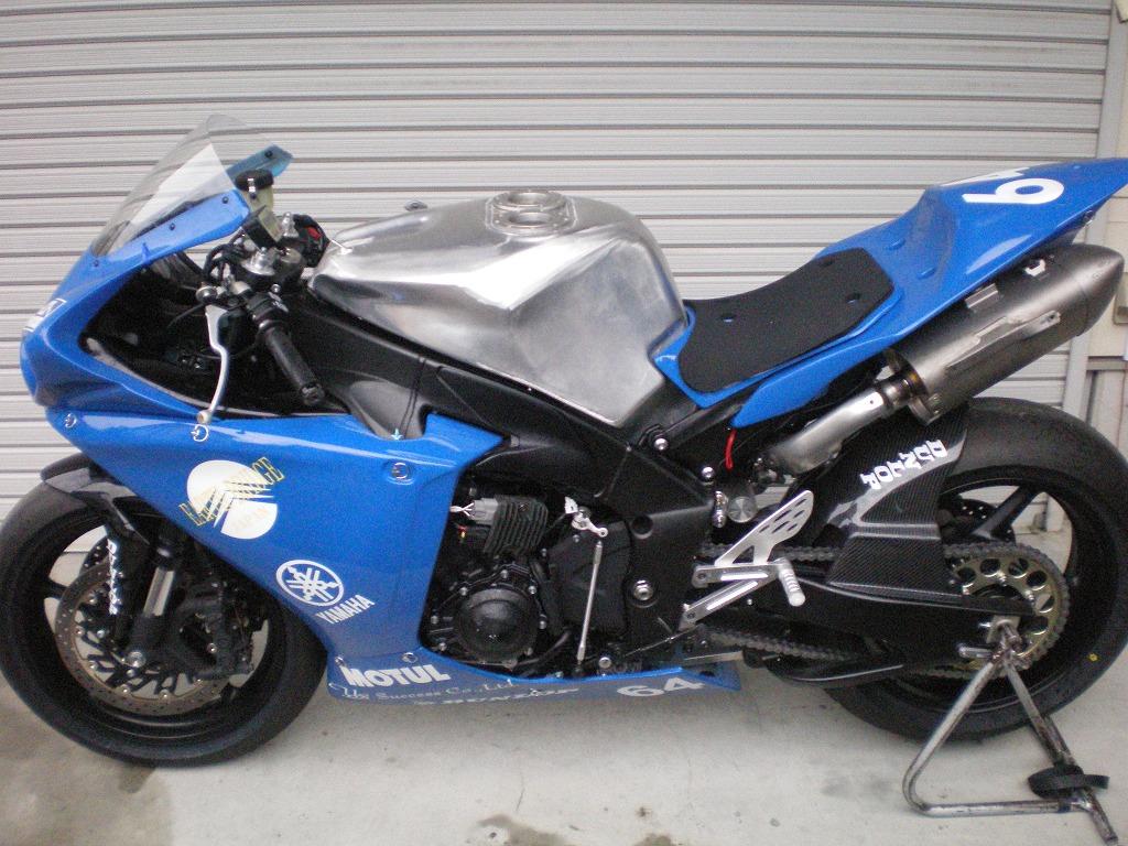 2009 yamaha yzf r1 24l aluminum fuel tank beater japan